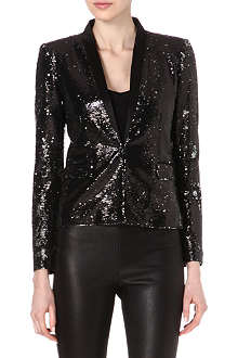 MAJE Eyeliner sequin jacket