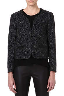 MAJE Facing lurex jacket