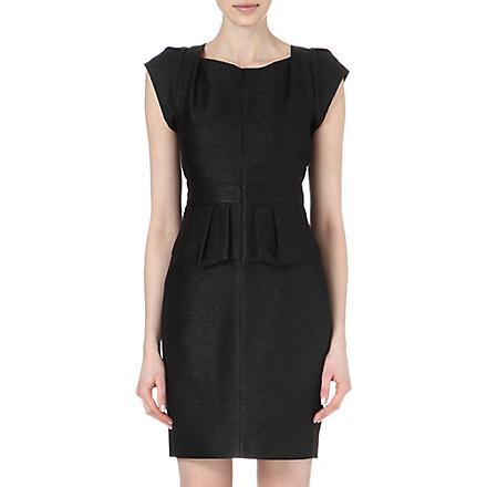 MAJE Fashionis peplum dress (Black