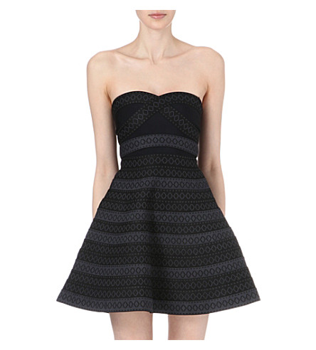 MAJE Favela bandage dress (Black