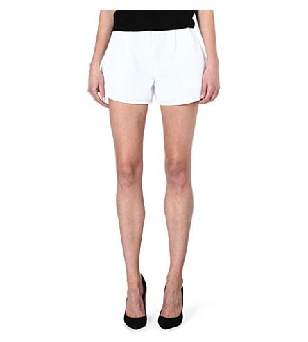 MAJE Feufollet mesh shorts (Blanc