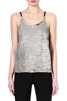 MAJE Fictif glitter top