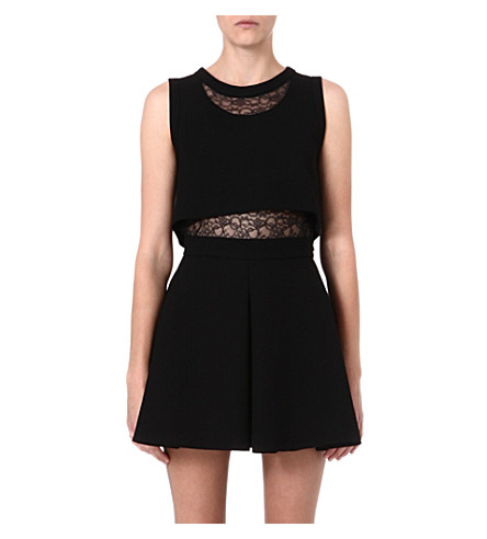 MAJE Foleda dress (Black