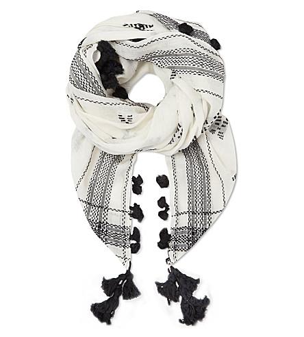 MAJE Fresne scarf (Blanc