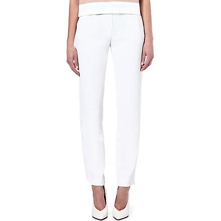 MAJE Funambule trousers (Ecru