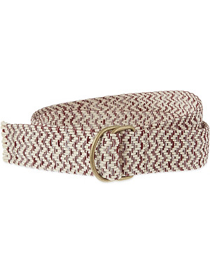 MAJE Anis two-tone braided belt