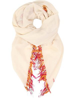 MAJE Epic cotton scarf