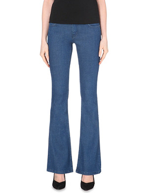 MAJE Paco stretch-denim jeans