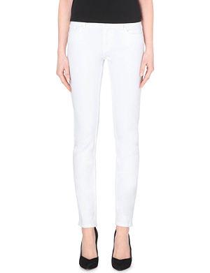 MAJE Peace stretch-denim jeans