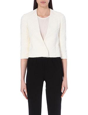 MAJE Vizir cotton-blend jacket
