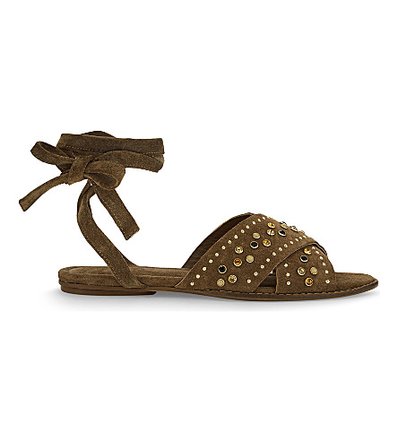MAJE Feminy suede sandals