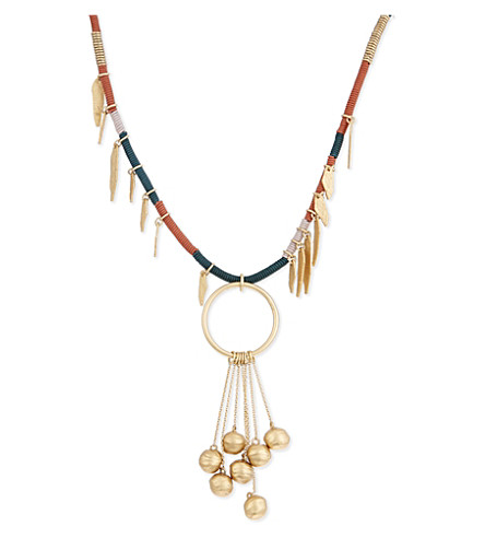 MAJE Nemesia necklace (Multico