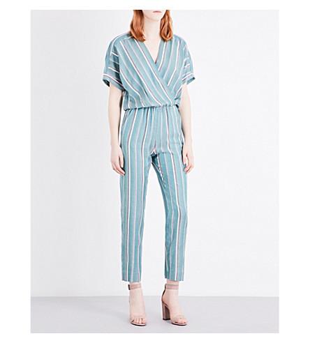 MAJE Pandora woven jumpsuit (Imprime