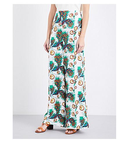MAJE Parifa crepe trousers (Imprime