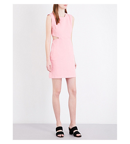 MAJE Roussia denim dress (Rose