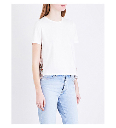 MAJE Tiona 棉衫 t恤衫 (Bicolore