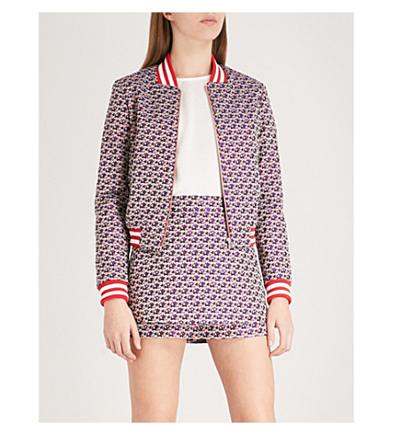 MAJE Boyana jacquard jacket (Multi-coloured