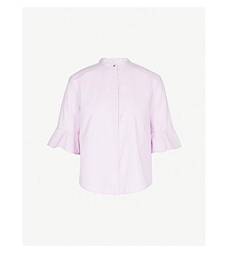 MAJE Charly cotton shirt (Pink