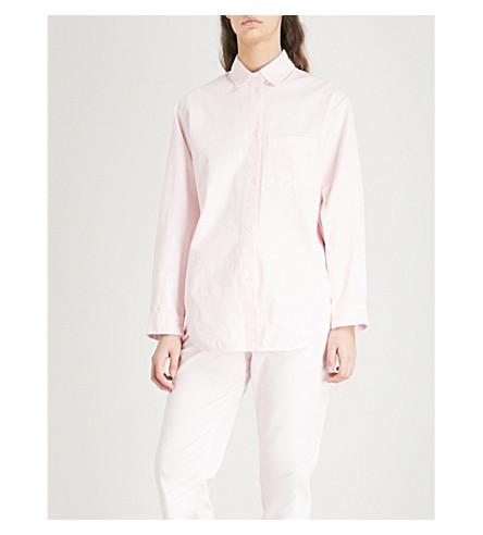 MAJE Chilo stretch-cotton shirt (Pale+pink