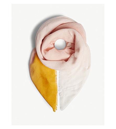 MAJE Ezzat cotton scarf (Multi-coloured