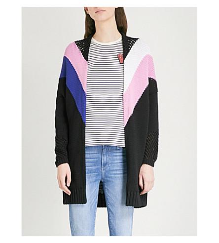 MAJE Morgane knitted cardigan (Multi-coloured
