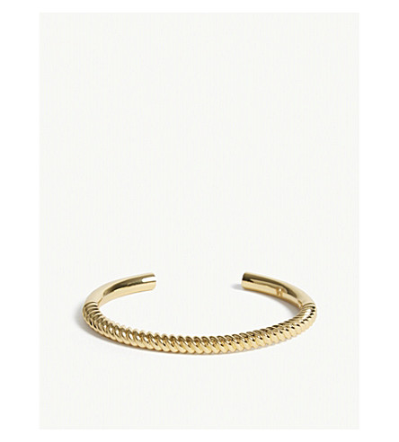 MAJE Weekly cuff bracelet (Gold