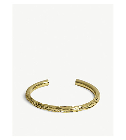 MAJE Semainier Weekly bracelet 7 (Gold