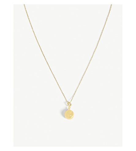 MAJE Four leaf clover necklace (Gold
