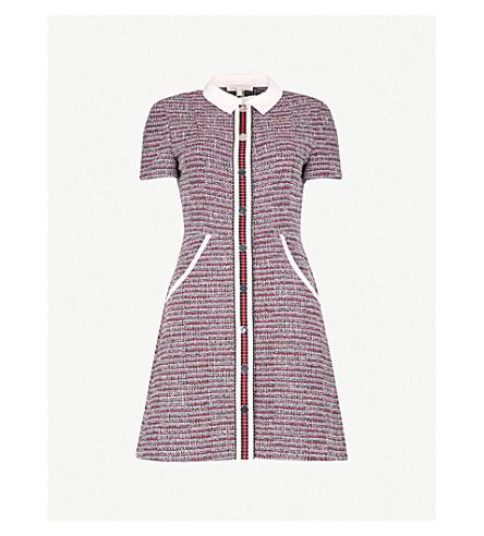 MAJE Natelle tweed mini dress (Jacquard