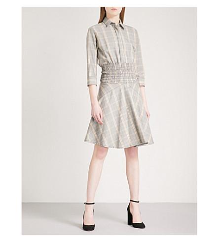 MAJE Resha woven dress (Carreaux
