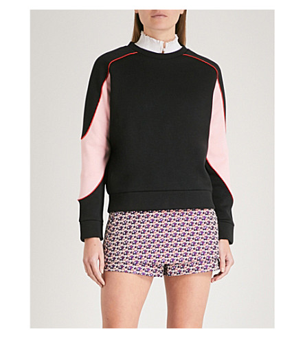 Tony colourblock jersey sweatshirt