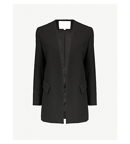 MAJE Valleane woven jacket (Black