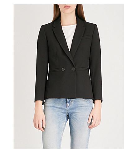 Valmy crepe blazer