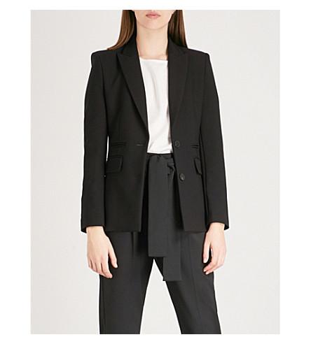 MAJE Vichita woven blazer (Black