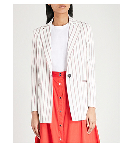 Vimaly striped woven jacket