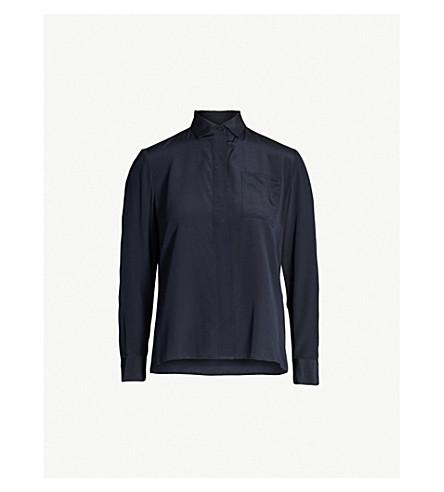 67822afaa4ef7 MAJE - Cela silk-crepe shirt