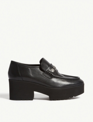 Ballerinas leather loafers(7739800)