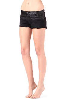 MAJE Dadmis denim shorts