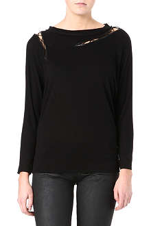 MAJE Damovilla long-sleeved top
