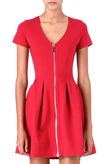 MAJE Datypic zip dress