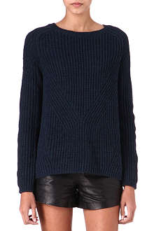 MAJE Dereck knitted jumper
