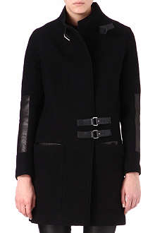 MAJE Deriver wool coat