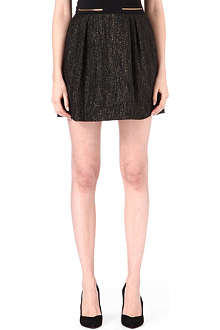 MAJE Lurex mini skirt