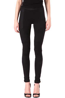 MAJE Panelled leggings