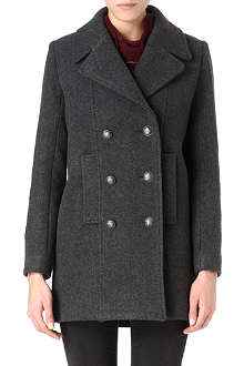 MAJE Military double-breasted coat