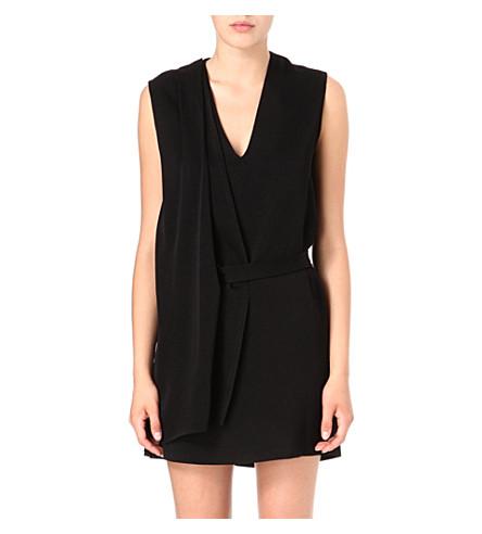 MAJE Dosithee dress (Black