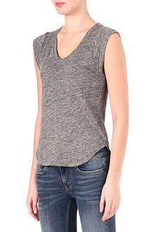 MAJE Dynamo v-neck top