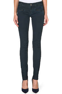 MAJE Danglo skinny mid-rise jeans