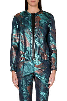 MAJE Metallic jacket