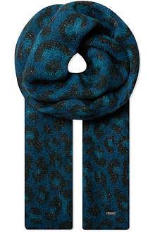 MAJE Wool-blend scarf